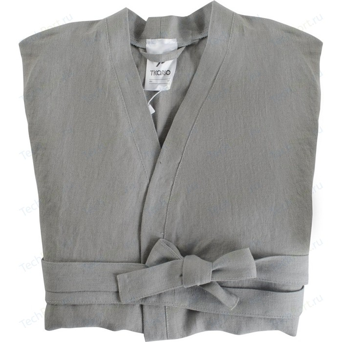 Халат серого цвета S Tkano Essential (TK18-BR0003)
