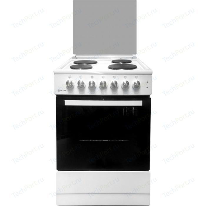 Электрическая плита DeLuxe 606004.13э 001(кр) белый
