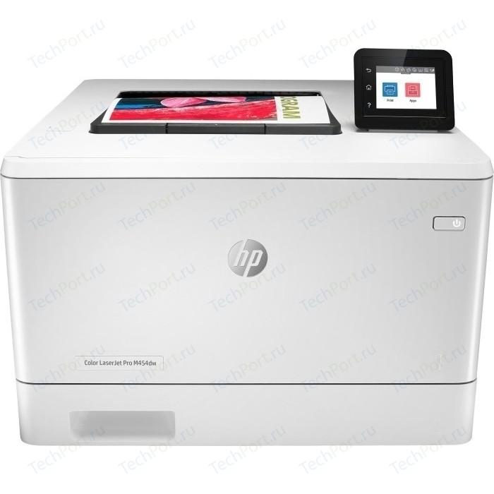 Фото - Принтер HP Color LaserJet Pro M454dw принтер hp color laserjet pro m255dw 7kw64a