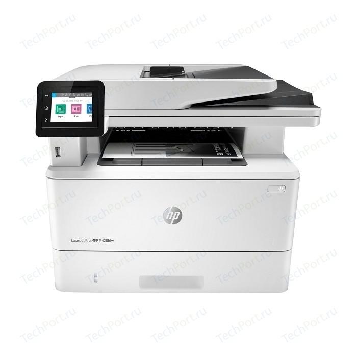 Фото - МФУ HP LaserJet Pro MFP M428fdw (W1A30A) мфу hp color laserjet enterprise 800 mfp m880z a2w75a цветной a3 46ppm факс дуплекс hdd 320гб ethernet usb