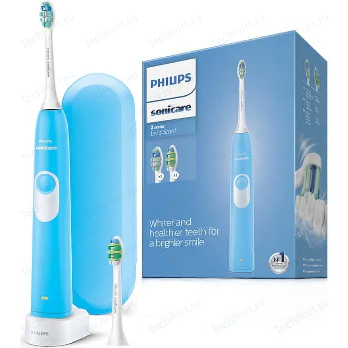 Электрическая зубная щетка Philips HX6212/87 Sonicare2 Series plaque control