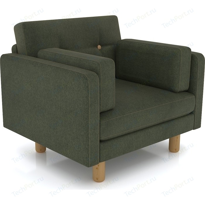 Кресло Anderson Ингвар зеленый велюр