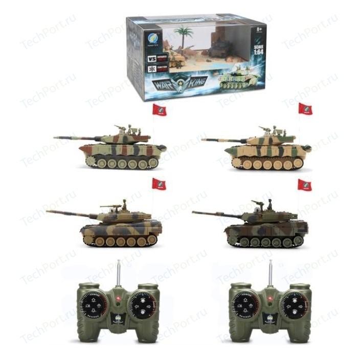 Радиоуправляемый танк Heng Long Радиоуправляемый мини танковый бой CS toys - 9819