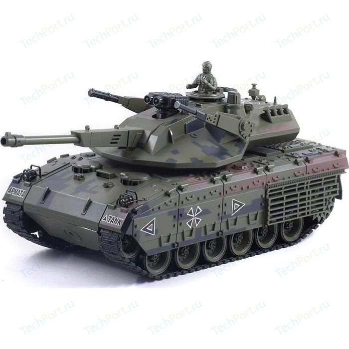 Радиоуправляемый танк HouseHold CS RUSSIA T-14А Армата масштаб 1:20 RTR 2.4G - YH4101H-21