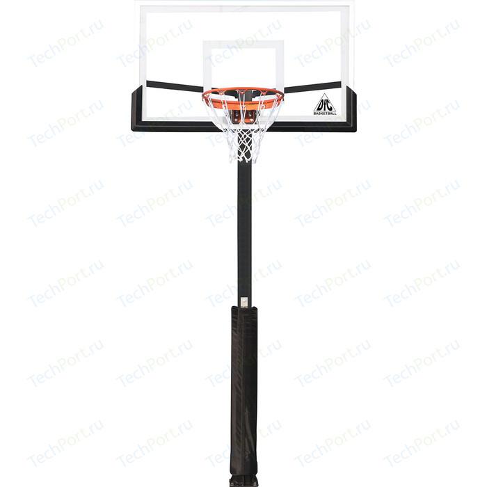 Фото - Баскетбольная стационарная стойка DFC ING54U 136х80 см стойка dfc ing54u