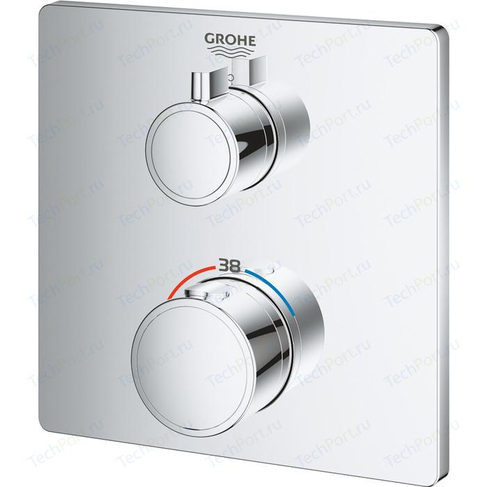 Термостат для душа Grohe Grohtherm механизма 35600, хром (24078000)