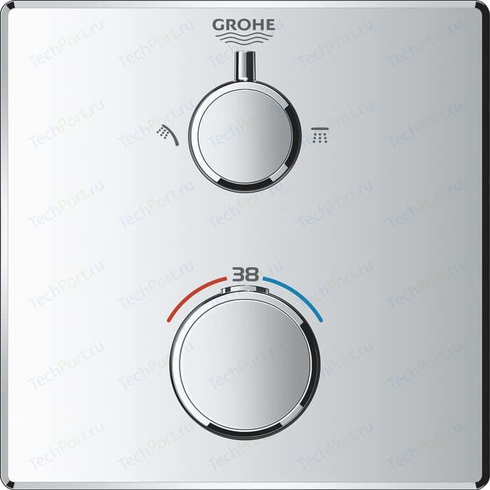 Термостат для душа Grohe Grohtherm механизма 35600, хром (24079000)