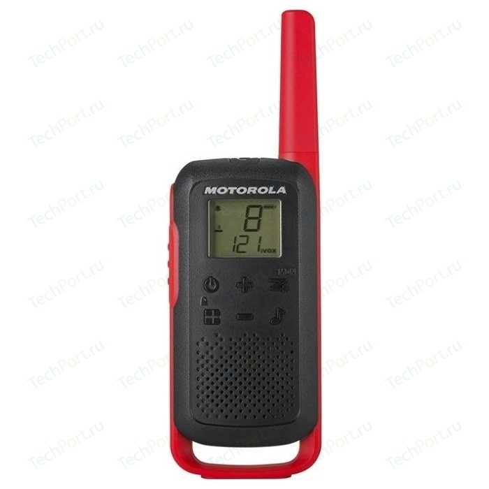 Рация Motorola Talkabout T62 Red (комплект)