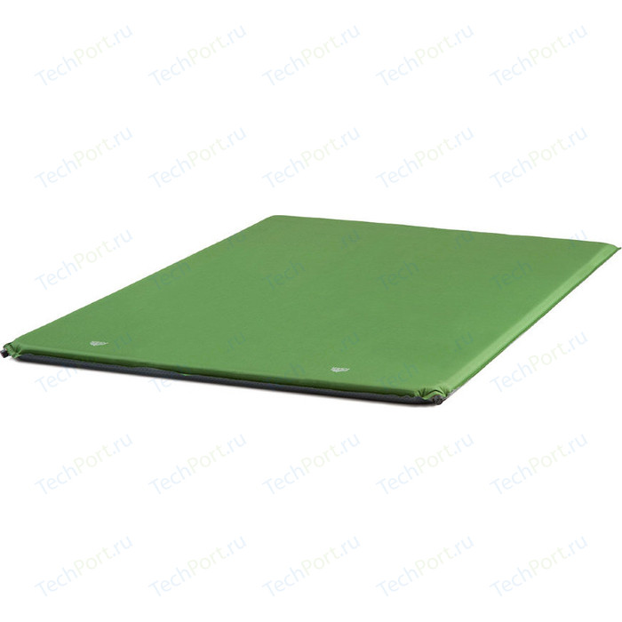 Коврик самонадувающий TREK PLANET Relax 50 Double 70436 зеленый