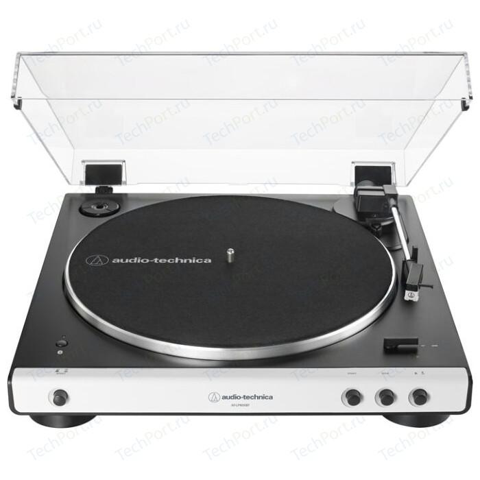 Фото - Виниловый проигрыватель Audio-Technica AT-LP60XBT black/white хедшелл держатель картриджа audio technica at hs4sv