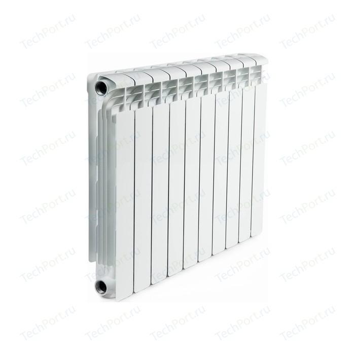 Радиатор алюминиевый RIFAR Alum 500 10 секции аллюминиевый боковое подключение (RAL50010) биметаллический радиатор rifar рифар b 500 нп 10 сек лев кол во секций 10 мощность вт 2040 подключение левое