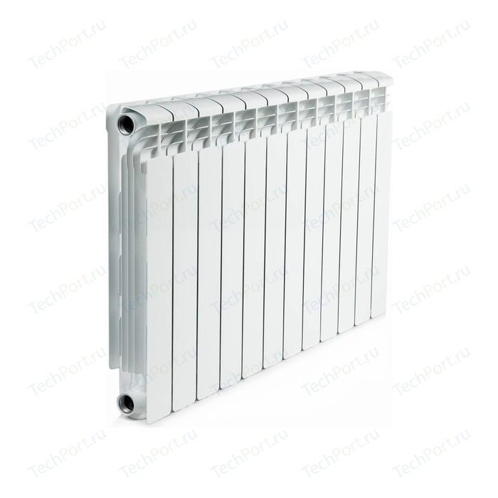 Радиатор алюминиевый RIFAR Alum 500 12 секции аллюминиевый боковое подключение (RAL500012)