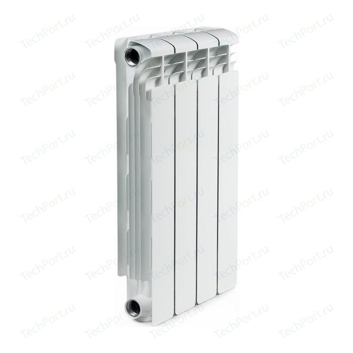 Радиатор алюминиевый RIFAR Alum 500 4 секции аллюминиевый боковое подключение (RAL50004)