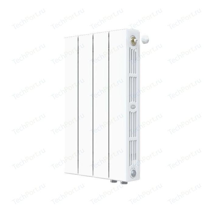 Радиатор отопления RIFAR SUPReMO VENTIL 500 4 секций биметаллический нижнее правое подключение (RIFAR S500-4 VR)