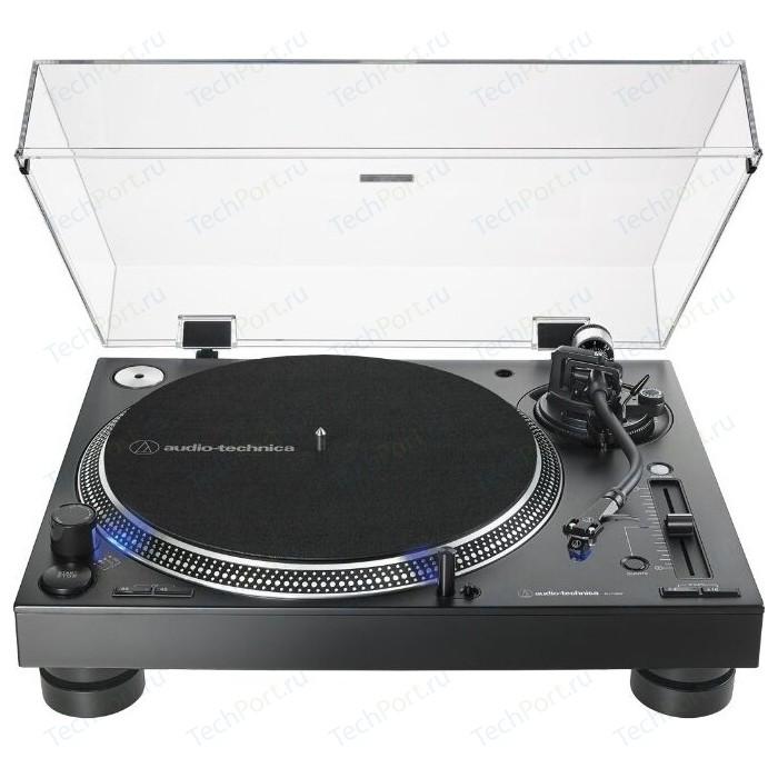 Виниловый проигрыватель Audio-Technica AT-LP140XP black виниловый проигрыватель audio technica at lp120x usb black