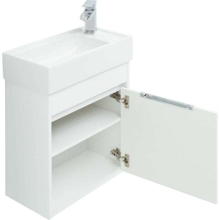 Мебель для ванной Aquanet Лидс 50 белая