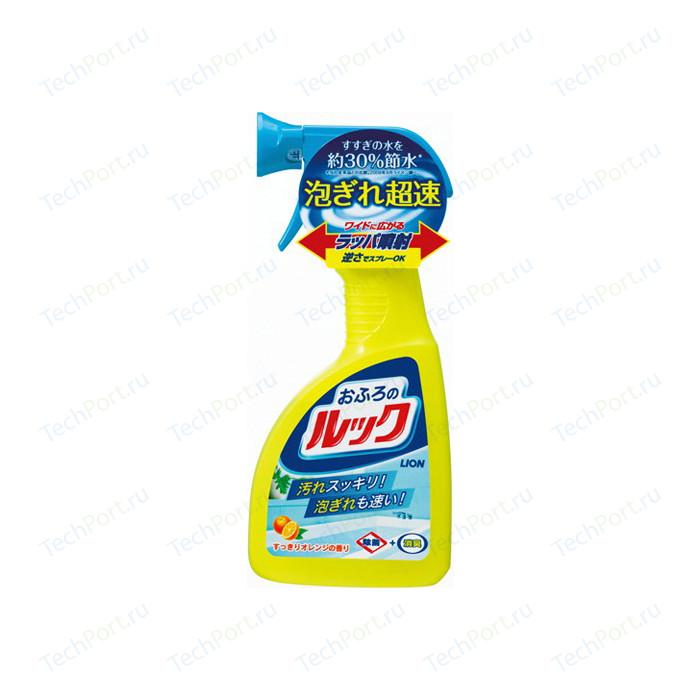 Чистящее средство Lion LOOK для ванной с ароматом апельсина, спрей 400 мл
