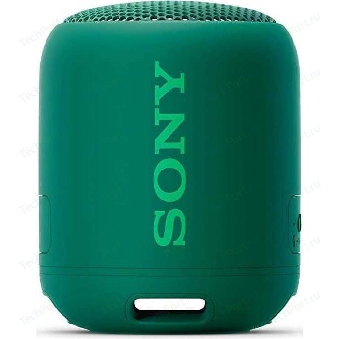 Портативная колонка Sony SRS-XB12 green портативная колонка sony srs xb23 green