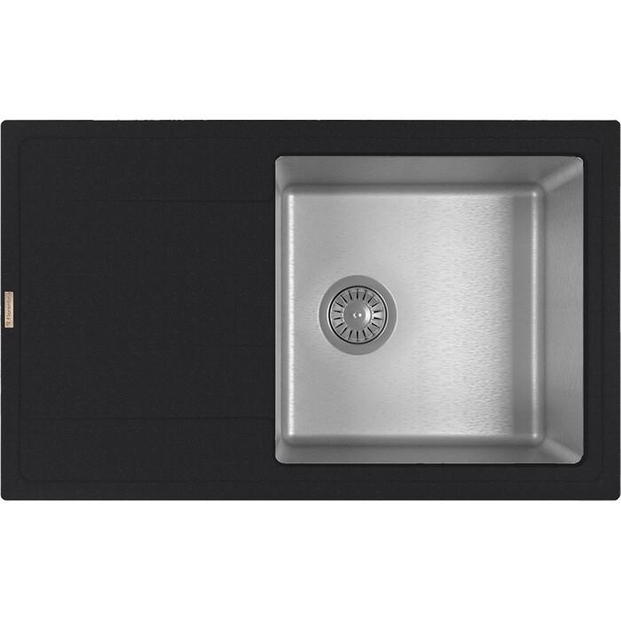 Кухонная мойка Florentina Комби 780 антрацит Fs (21.395.D0780.302)
