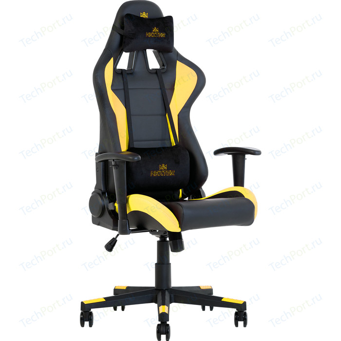 Кресло Nowy Styl Hexter ml r1d tilt pl70 eco/01 black/yellow