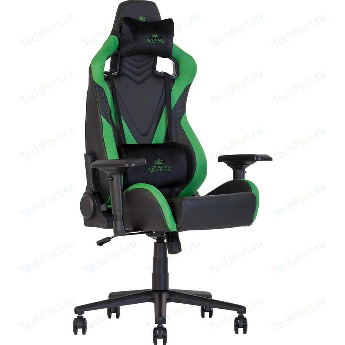Кресло Nowy Styl Hexter pro r4d tilt mb70 eco/02 black/green
