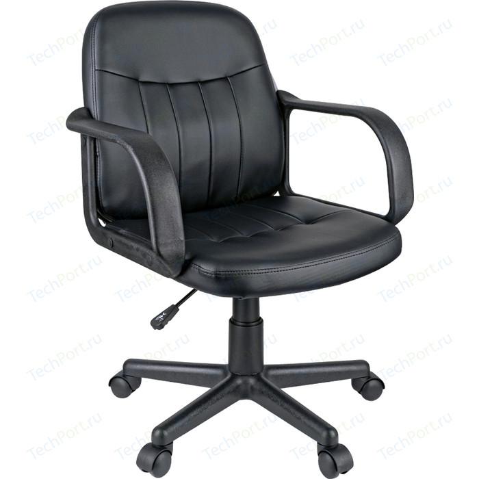 Кресло оператора Helmi HL-M01 Brief экокожа черная