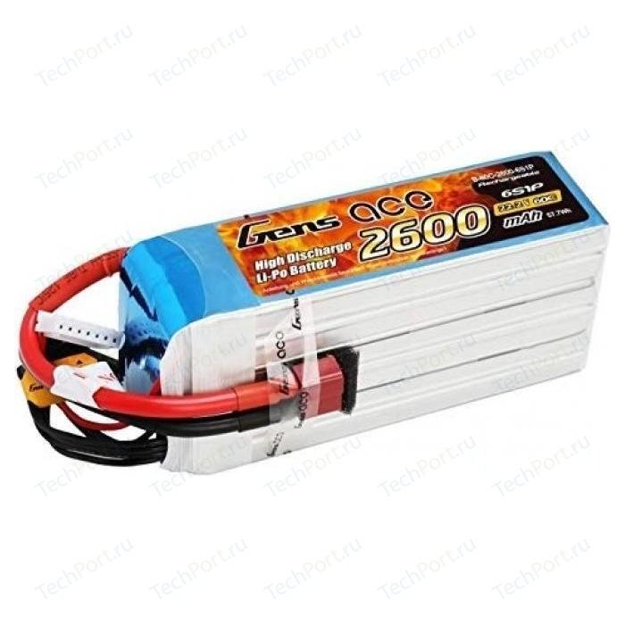 Аккумулятор Gens Li-Po - 11.1В 2600мАч 60C (3S1P) XT-60 - B-60C-2600-3S1P
