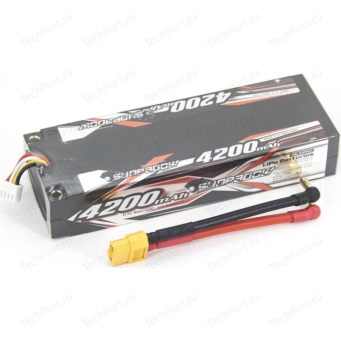 Аккумулятор Sunpadow Li-Po 3S1P 4200mAh 40C 80C XT60 Hardcase - SP-4200-3-40C-S-XT