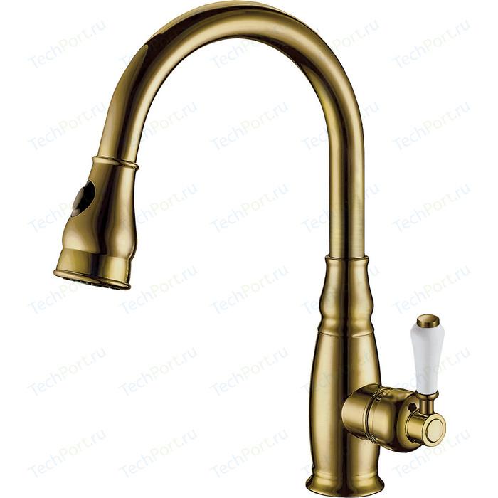 Смеситель для кухни Elghansa Kitchen с душем, бронза (5652686-Bronze)