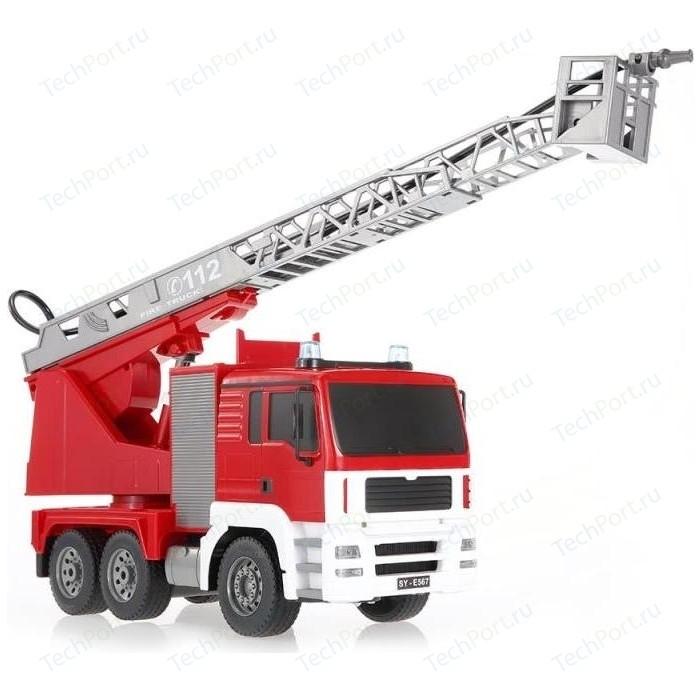 Радиоуправляемая машина Double Eagle Пожарная масштаб 1:20 2.4G (брызгает водой) - E567-003