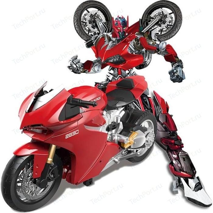 Meizhi Робот - мотоцикл Duccati трансформер, радиоуправляемый масштаб 1:14 MZ-2830P