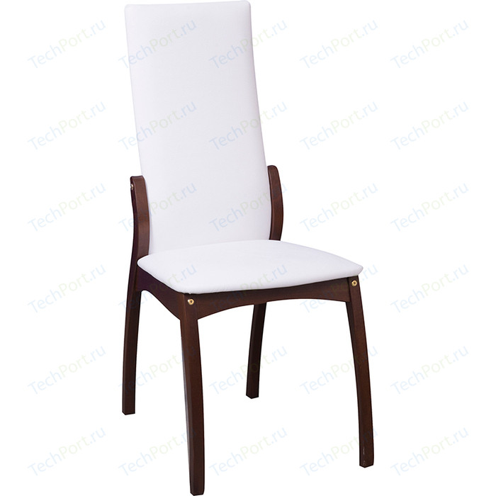Фото - Стул Интервуд Токио орех темный-белый стул токио белый массив бук