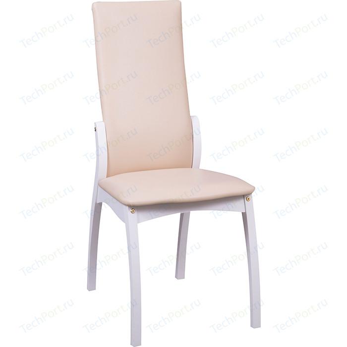 Фото - Стул Интервуд Токио белый матовый-бежевый стул токио белый массив бук