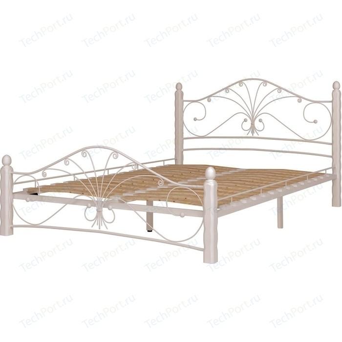 Кровать ГЗМИ Фортуна 1 белый-белый 160