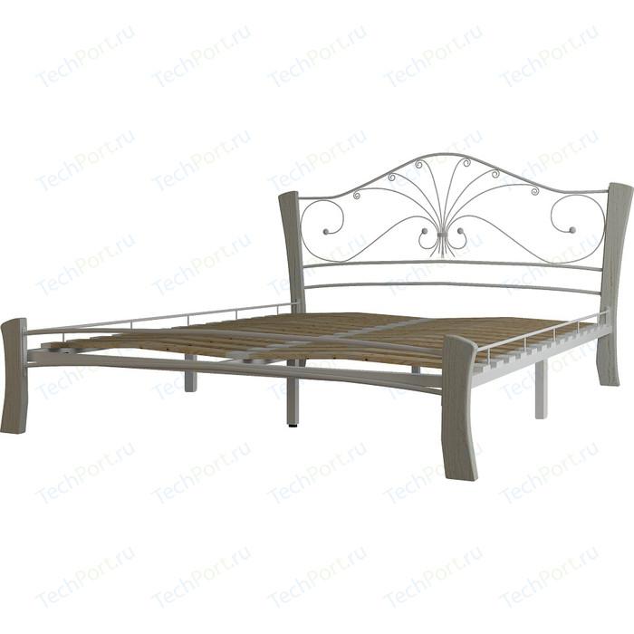 Кровать ГЗМИ Фортуна 4 лайт белый-белый 140