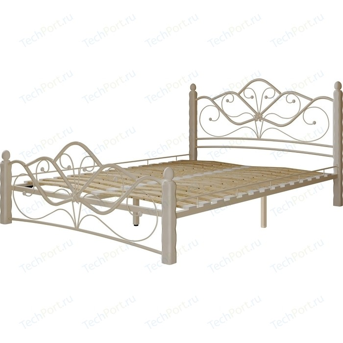 Кровать ГЗМИ Венера 1 белый-белый 160