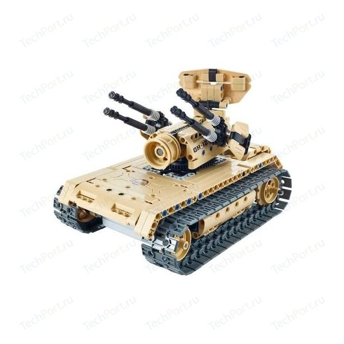 Радиоуправляемый конструктор QiHui зенитный танк Technics 4CH 2.4G 457 деталей - QH8012