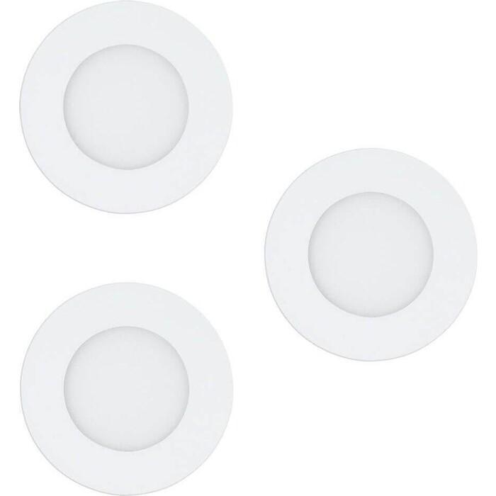 Встраиваемый светодиодный светильник Eglo 32881 встраиваемый светодиодный светильник eglo 61544