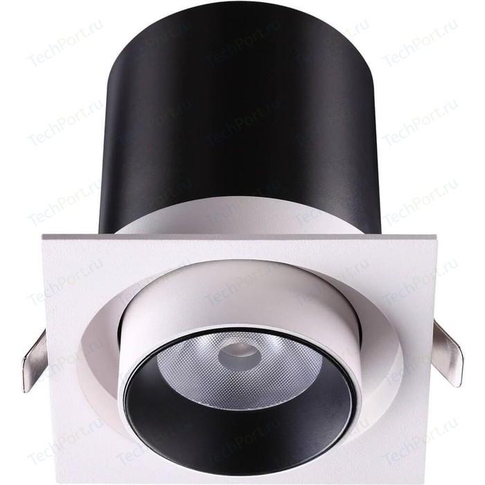 Встраиваемый светодиодный светильник Novotech 358082 встраиваемый светодиодный светильник novotech 357997