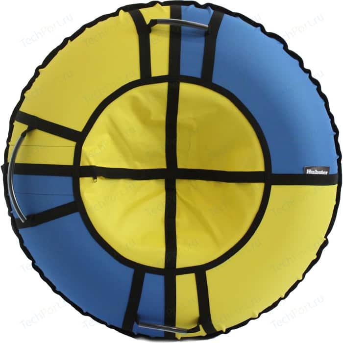Тюбинг Hubster Хайп голубой-желтый 80 см