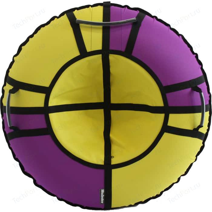 Тюбинг Hubster Хайп фиолетовый-желтый 90 см