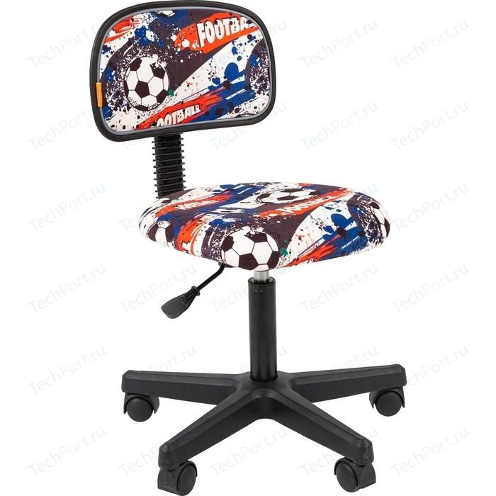 Кресло Chairman Kids 101 ткань футбол черный