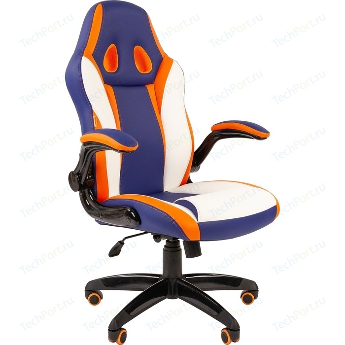 Офисное кресло Chairman Game 15 экопремиум mixcolor