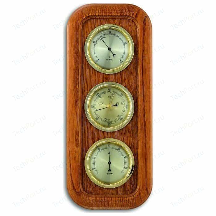 Метеостанция аналоговая TFA 20.1019.01, деревяная