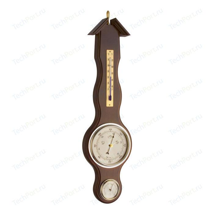 Метеостанция аналоговая TFA 20.1037.03, деревяная