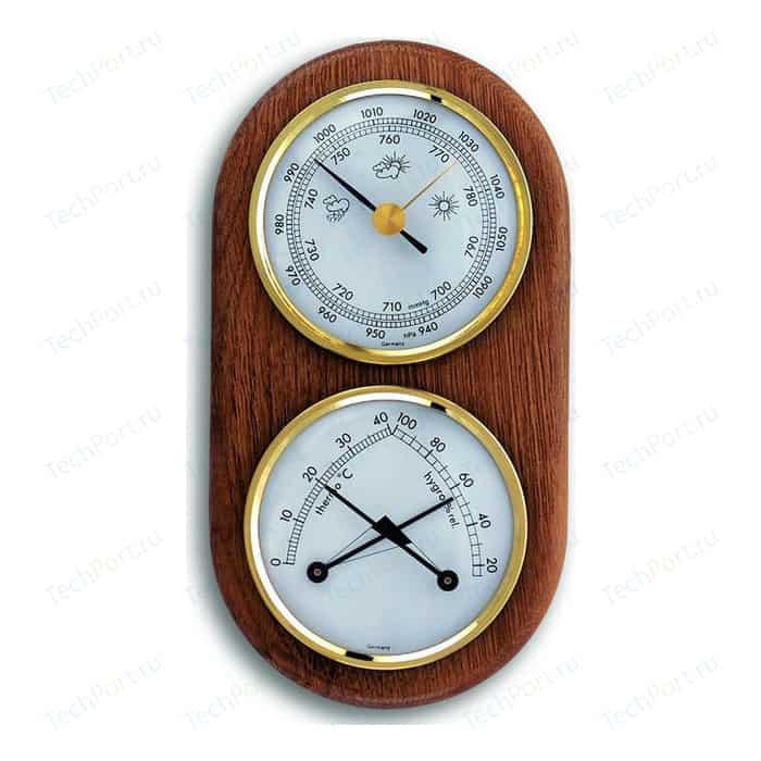 Метеостанция аналоговая TFA 20.1051, деревяная