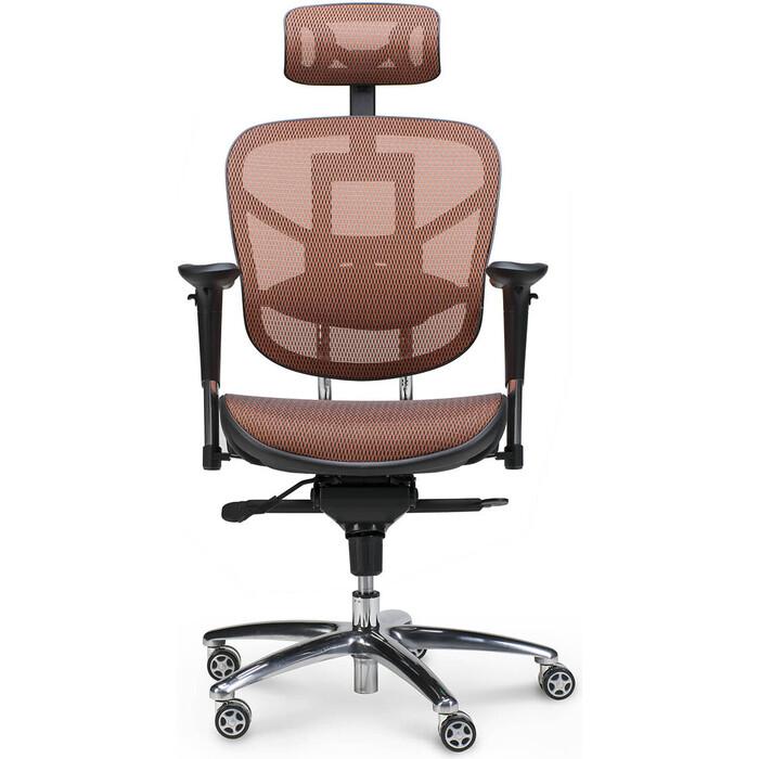 Кресло офисное NORDEN Стартрек оранжевая сетка