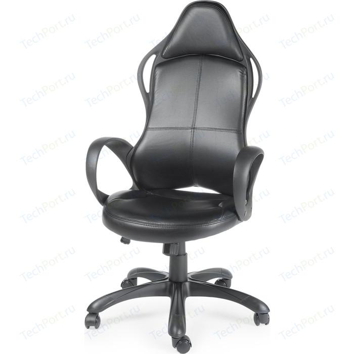 Кресло офисное NORDEN Вайпер черный пластик/черная экокожа