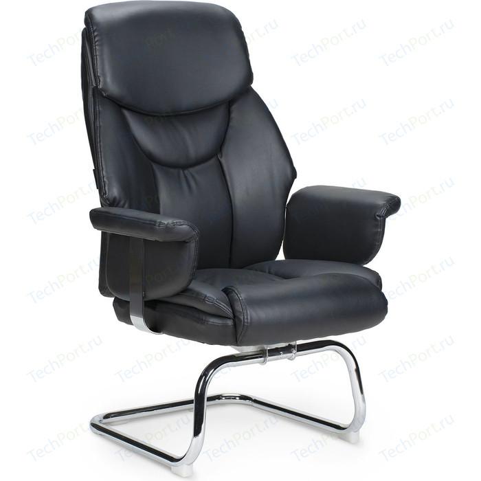 Фото - Кресло офисное NORDEN Парламент CF/ (black) конференц хром/черная экокожа кресло офисное norden президент сталь хром черная экокожа