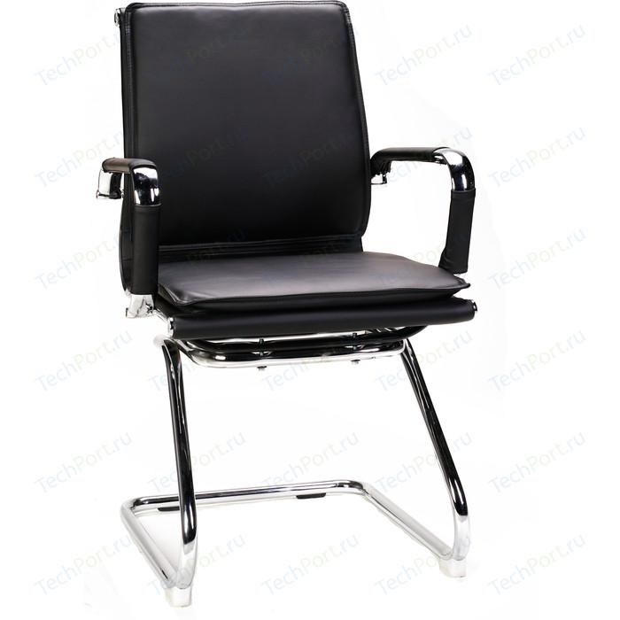 Фото - Кресло офисное NORDEN Харман CF/ (black) хром/черная экокожа кресло офисное norden президент сталь хром черная экокожа